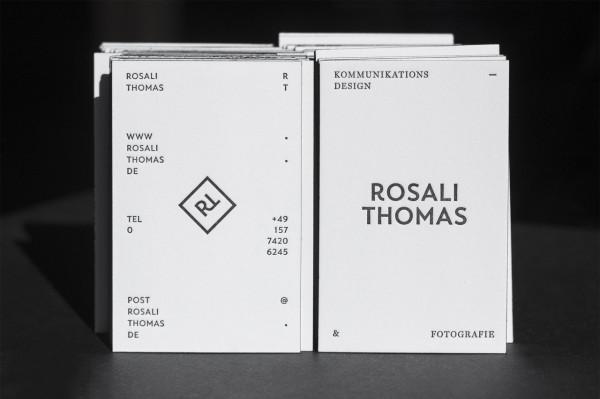 Rosali Thomas – Letterpress Visitenkarten (2)
