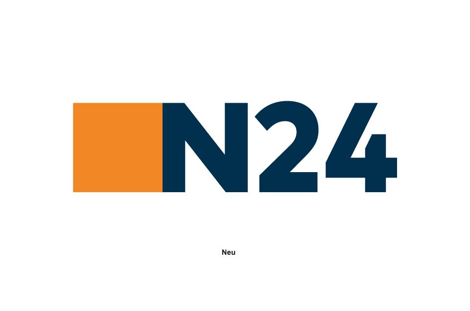 n24 logo redesign. Black Bedroom Furniture Sets. Home Design Ideas