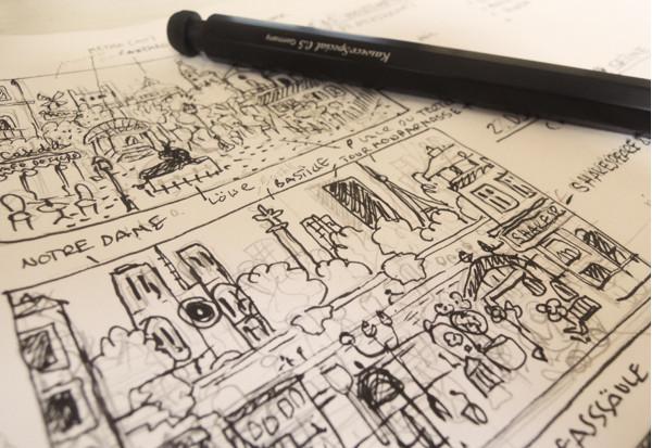 Sketches_PARIS_Wimmelbuch