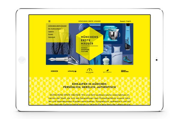 Markenauftritt und Kampagne für neuen Verbund Münchner Traditionskaufhäuser (3)