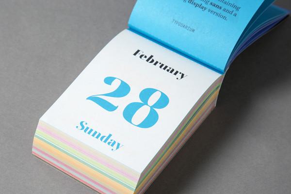 Typodarium 2016 – The Daily Dose of Typography (8)
