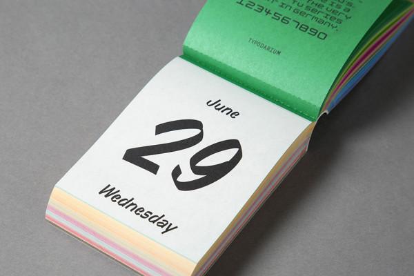Typodarium 2016 – The Daily Dose of Typography (16)