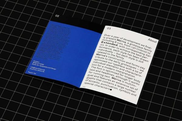 Mériva Grotesque Typeface (2)