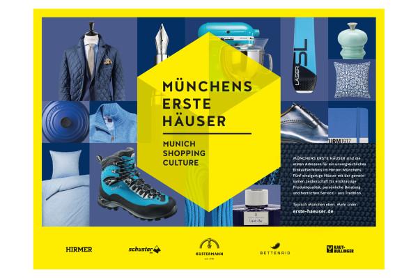 Markenauftritt und Kampagne für neuen Verbund Münchner Traditionskaufhäuser (1)
