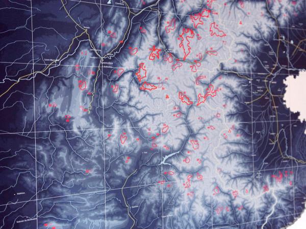 Die Alpen. 634 Skigebiete. Eine Karte. (3)