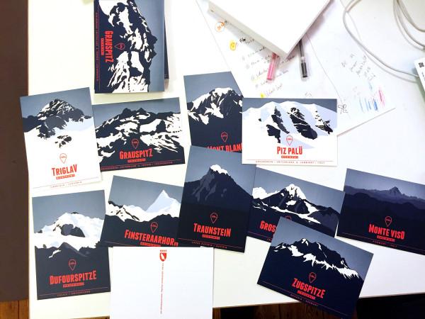 Die Alpen. 634 Skigebiete. Eine Karte. (13)