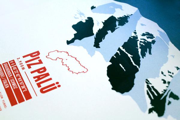 Die Alpen. 634 Skigebiete. Eine Karte. (12)