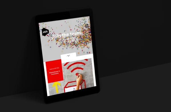Corporate Design für die Digital Agentur Shift (2)