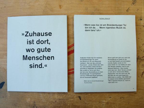 Ungebunden – vier Wohnungslose in Berlin (3)