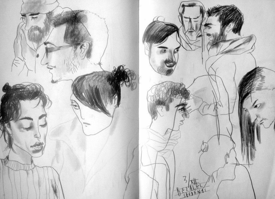 Workshop: Sketching People