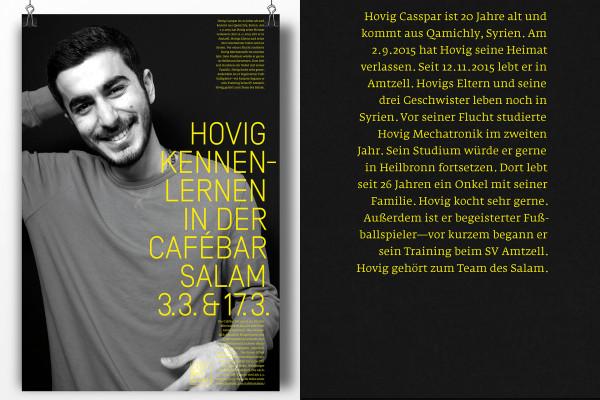 Leise und laute Geschichten aus der Cafébar Salam! (2)