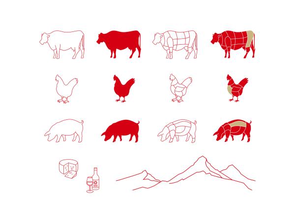 Corporate Design für die Swiss Butchery in Shanghai (4)