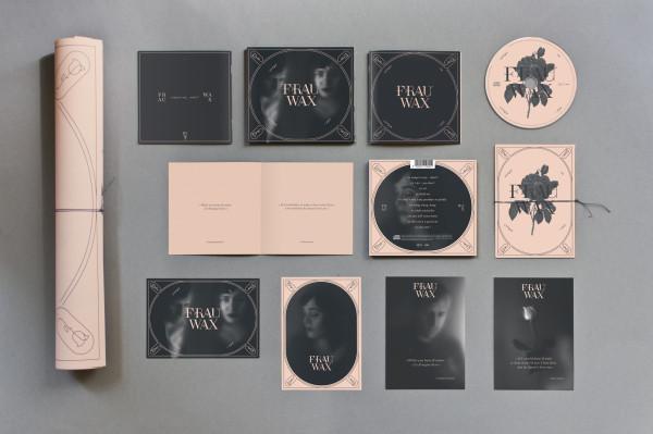 Frau Wax – Erscheinungsbild für eine Band (4)
