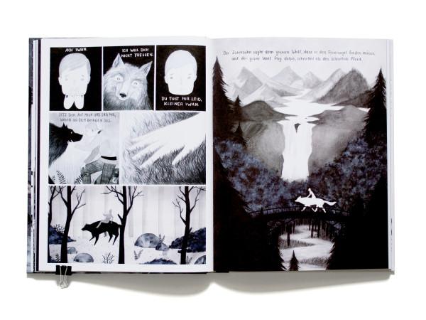 Iwan, der graue Wolf & der Feuervogel – Graphic Novel (7)
