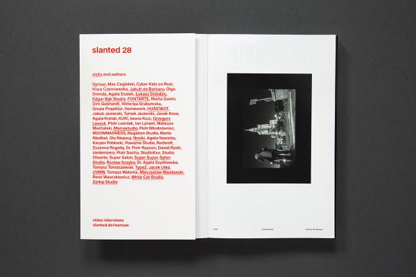 Slanted Magazine #28 – Warsaw (2)