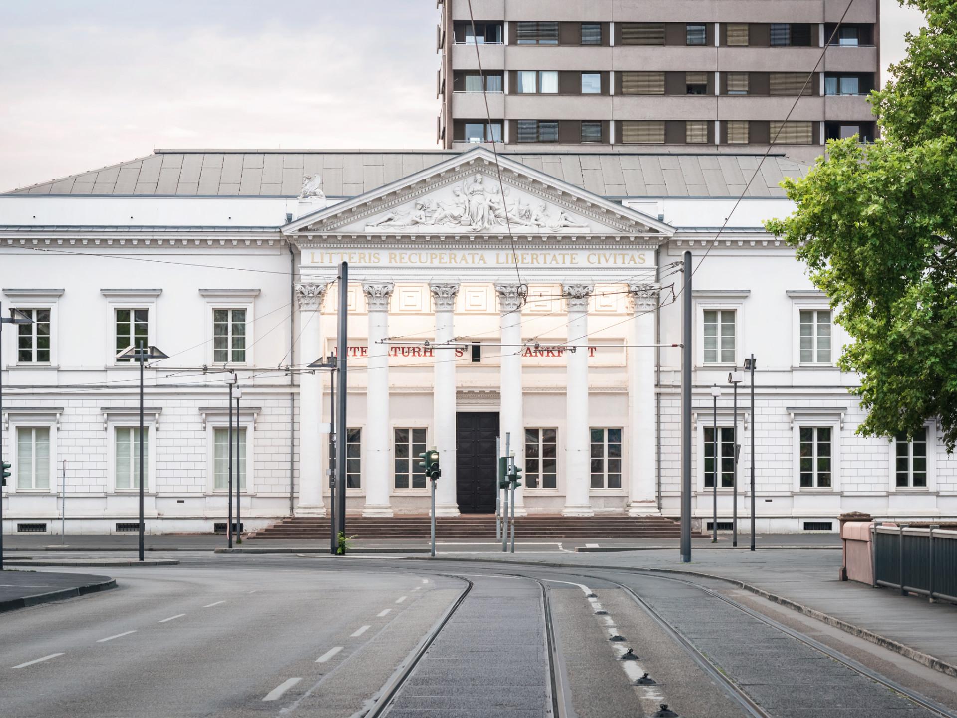 Literaturhaus frankfurt corporate design for Corporate design uni frankfurt