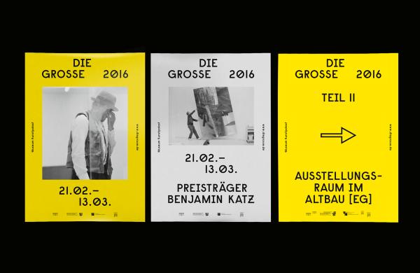 Die Grosse 2016 – Branding & Ausstellungskatalog (1)