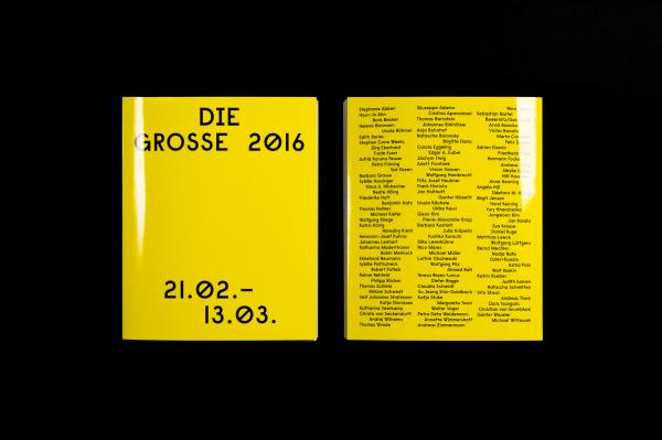 Die Grosse 2016 – Branding & Ausstellungskatalog (5)
