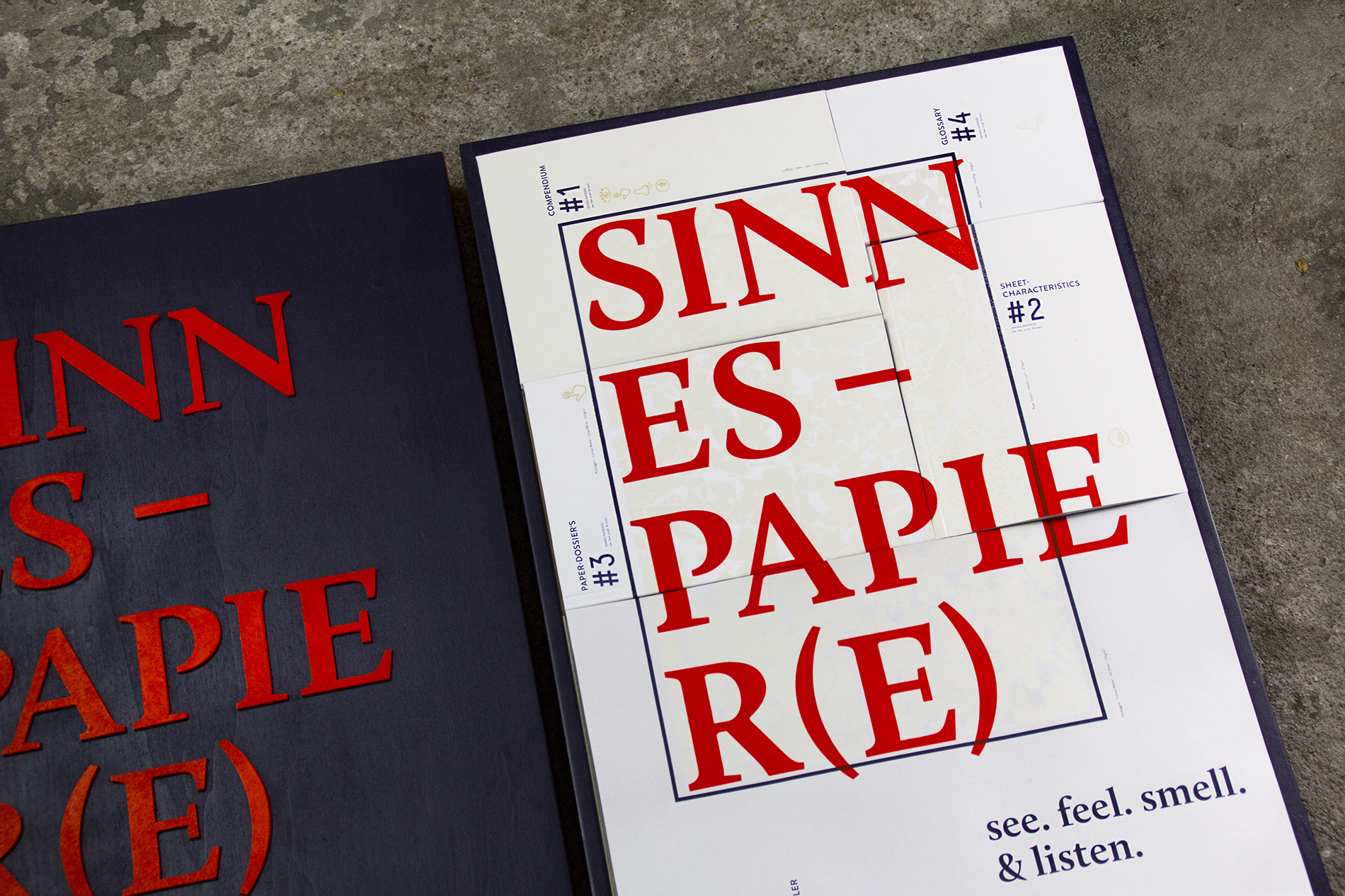 Sinnes-Papier(e) see. feel. smell. & listen.