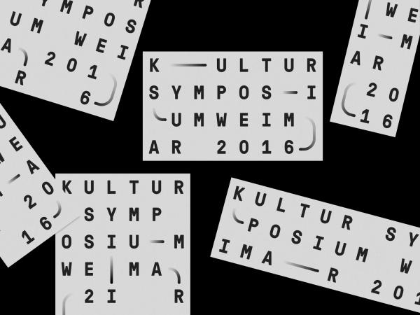 Kultursymposium Weimar 2016 (1)