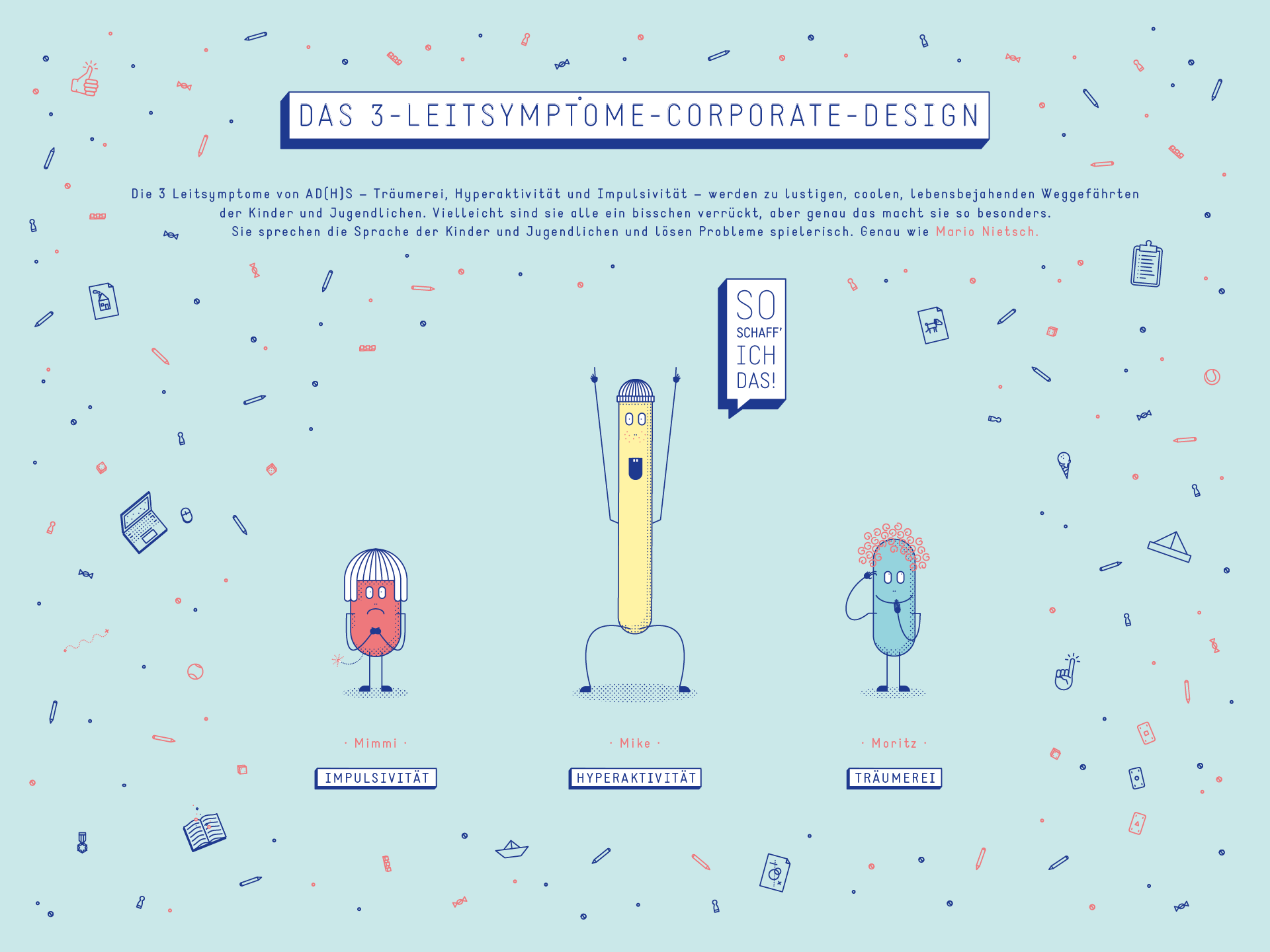 Das 3-Leitsymptome-Corporate-Design
