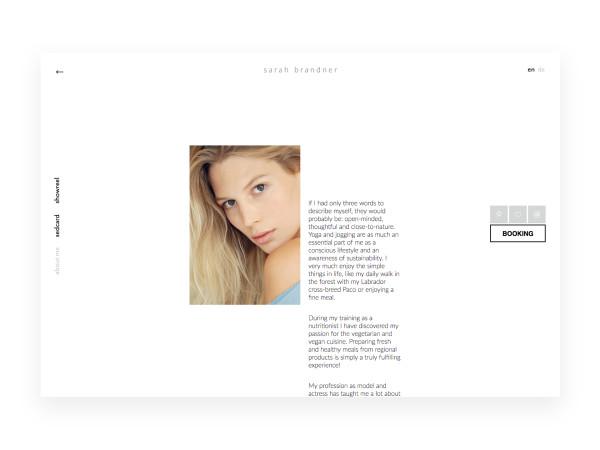 Webseite für Sarah Brandner (1)