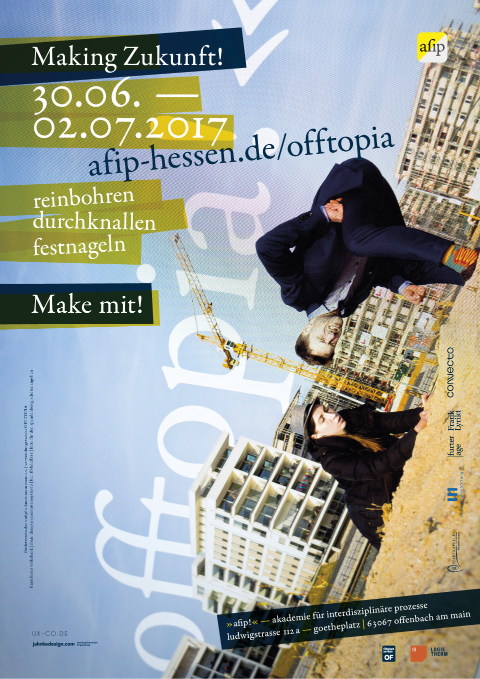 Offtopia making zukunft offenbach for Lutz jahnke