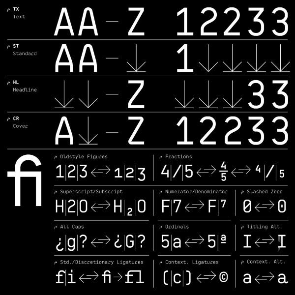 BB Roller Mono Pro – Typeface (5)