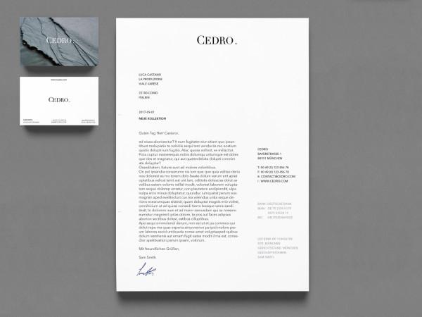 Corporate Identity – Cedro (2)