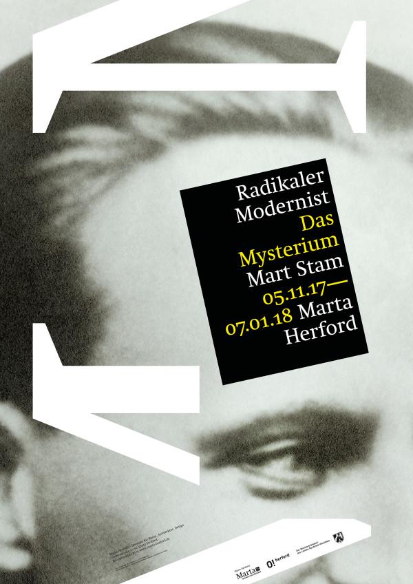 Ausstellungsplakate für das Marta Herford (1)