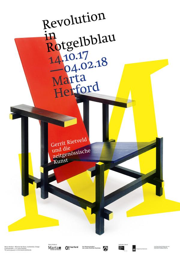Ausstellungsplakate für das Marta Herford (2)