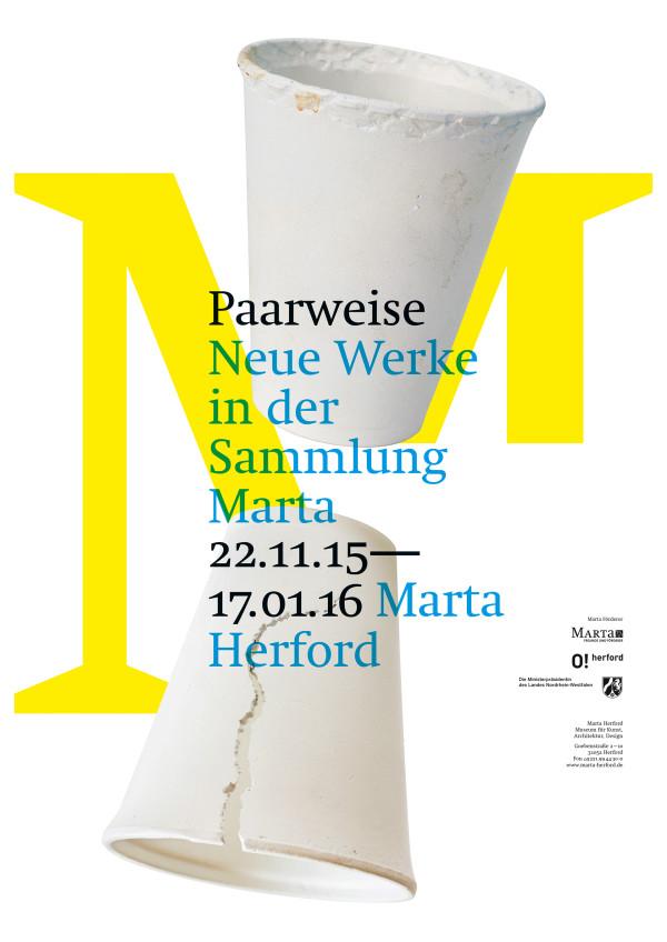 Ausstellungsplakate für das Marta Herford (3)