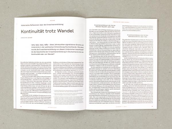 Weiter bilden — DIE Zeitschrift für Erwachsenenbildung (5)