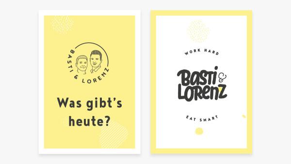 Work Hard, Eat Smart: Brand Design für Basti & Lorenz (2)