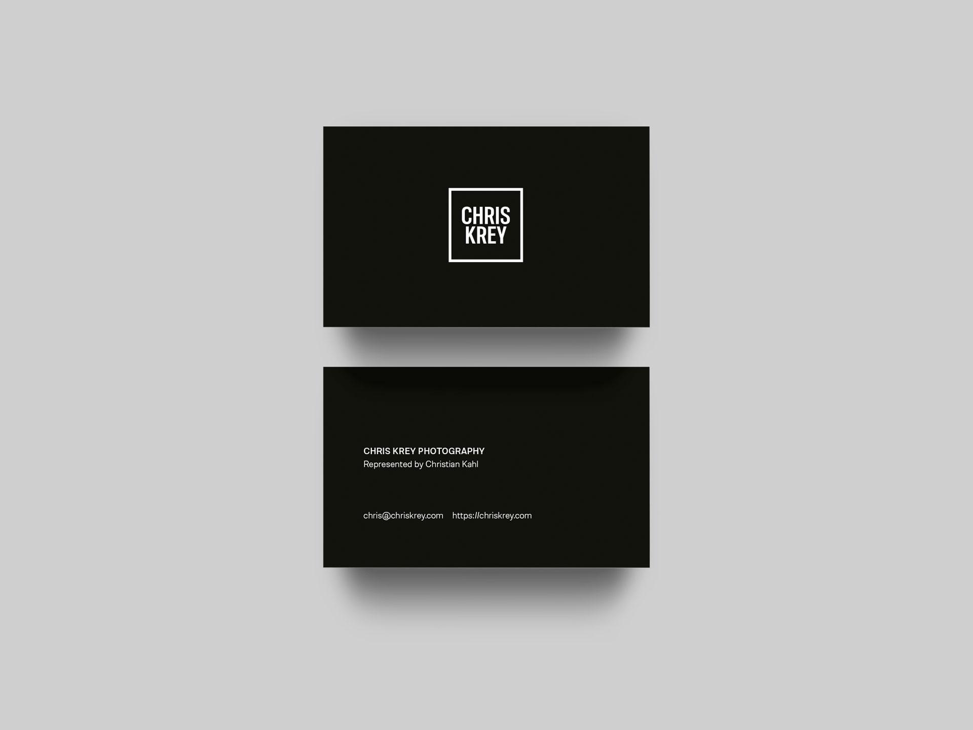Chris Krey Photography Corporate Design