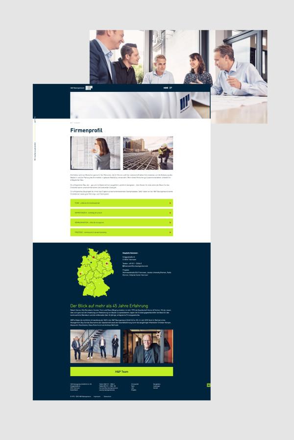 H&P Bauingenieure – Website Relaunch (9)
