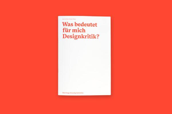 Was bedeutet für mich Designkritik? (0)