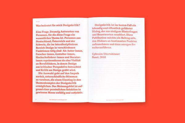 Was bedeutet für mich Designkritik? (2)