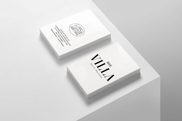 Die Villa – Corporate Identity (2)