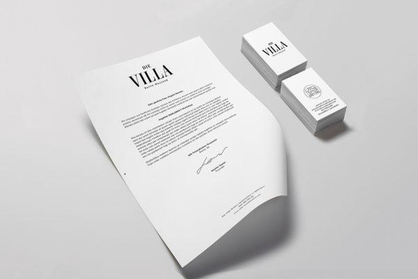 Die Villa – Corporate Identity (4)