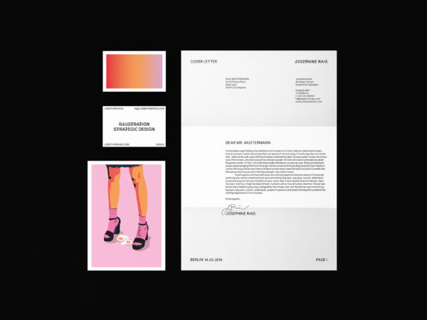Corporate Identity für Josephine Rais (1)