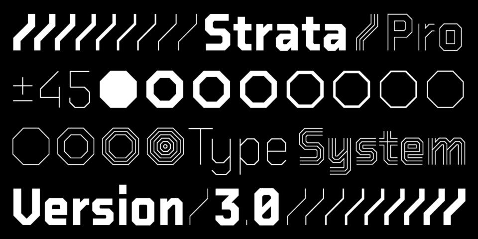 BB Strata™ Pro – Typeface (1)