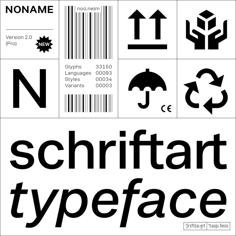Noname™ Pro – Typeface (1)