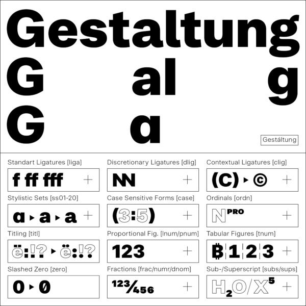 Noname™ Pro – Typeface (2)
