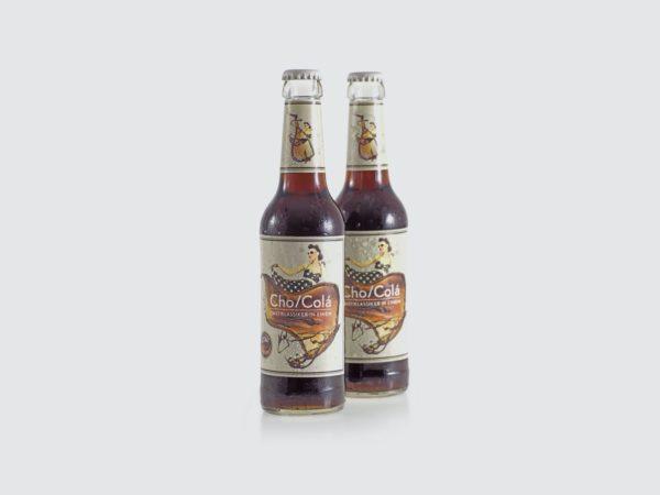 Cho/colá – die Cola mit dem Schoko-Tick. (1)