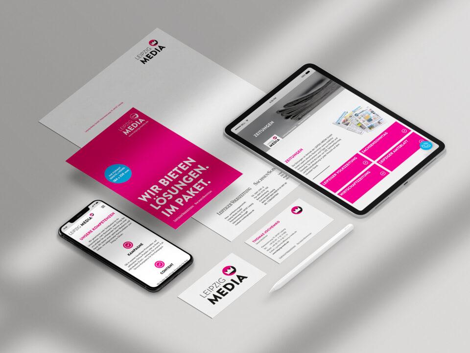 Corporate Design – Leipzig Media (1)