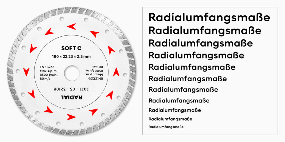 Neue Radial Soft A–D