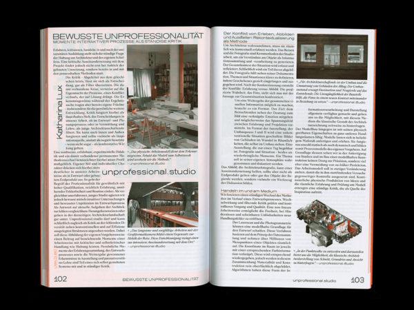 Protocol Nr.11 – Magazin für Architektur im Kontext (10)