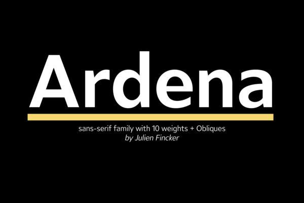 Ardena Schriftfamilie (1)
