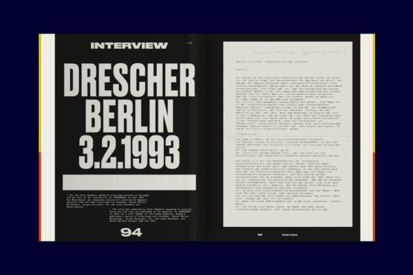 Karl-Heinz Drescher — Berlin Typo Posters, Texts, and Interviews (11)